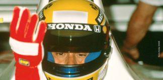 Ayrton Senna in Spain in 1992