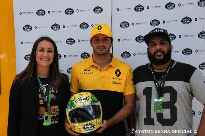 Carlos Sainz Jr at Interlagos