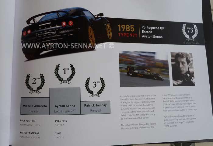 Lotus Ayrton Senna