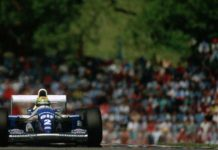 Ayrton Senna at Imola in 1994