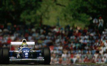Ayrton Senna at Imola in 1994