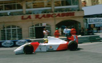 Ayrton Senna in Monaco