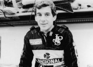 Ayrton Senna in Lotus
