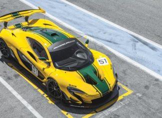 McLaren GTR Bruno Senna
