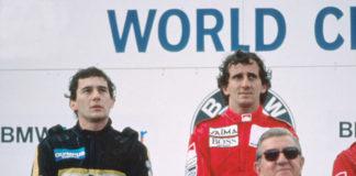 Prost and Senna in Austria 85
