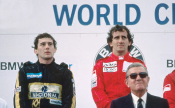 Prost and Senna in Austria 85