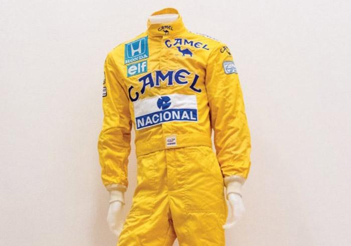 Senna suit on auction