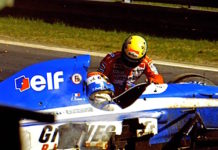 Senna helping to Erik Comas