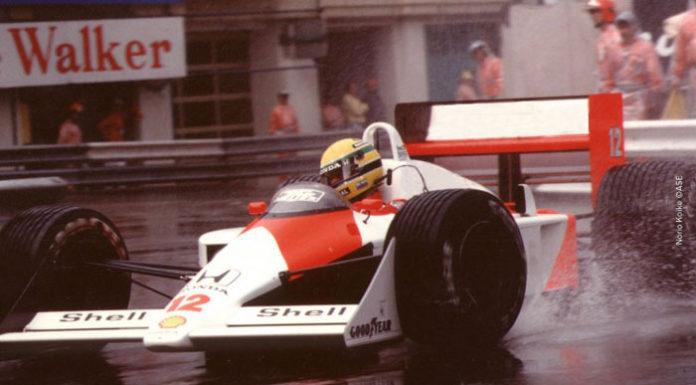 Ayrton Senna at Monaco in 1988