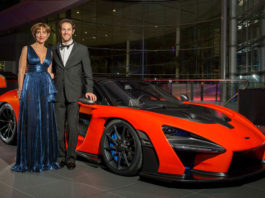 Viviane and Bruno Senna