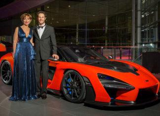 Viviane and Bruno Senna