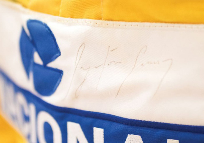 Ayrton Senna suit from Monaco
