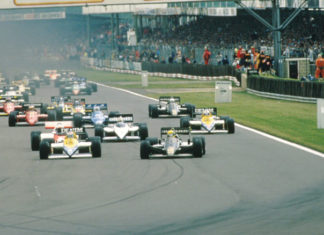 Ayrton Senna in Great Britain