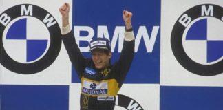 Senna at Estoril Podium 1985