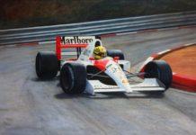 Senna in McLaren