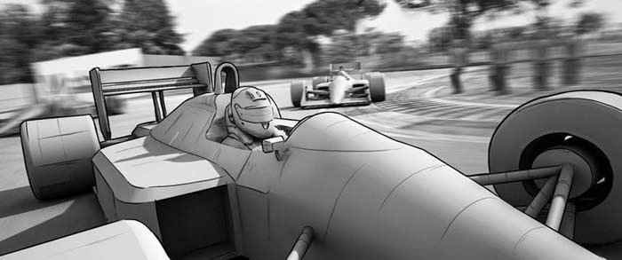 Animation Senna