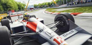 Ayrton Senna in Tosa 88