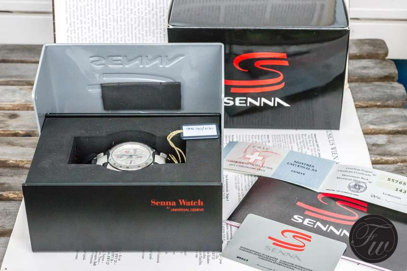 Senna watch box