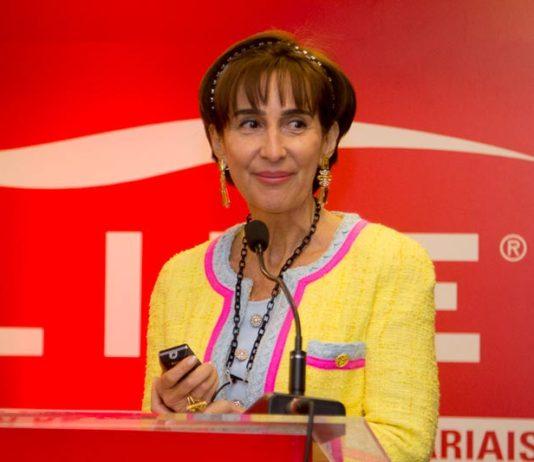 Viviane Senna at Lide event