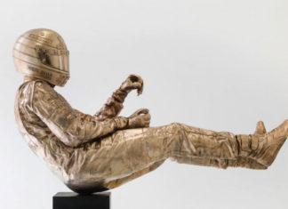 Senna Statue