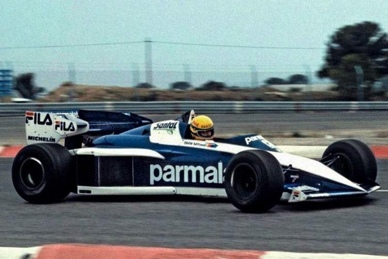 Senna Testing Brabham