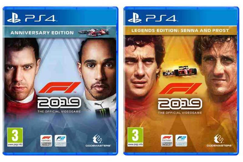 Formula 1 game