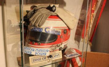 Ratzenberger helmet