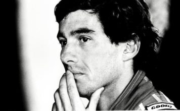 Senna photo on Auction