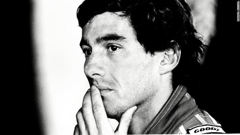 Senna photo on Auction