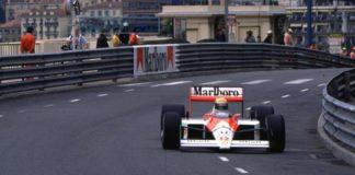 Ayrton Senna in Monaco 1988
