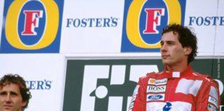 Senna and Prost 1993